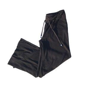 Zara flowy black wide legged pants